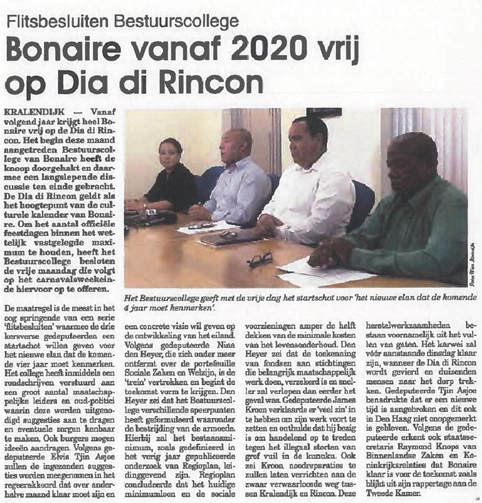 april-2019-Dia-di-Rincon-feestdag-vanaf-2020